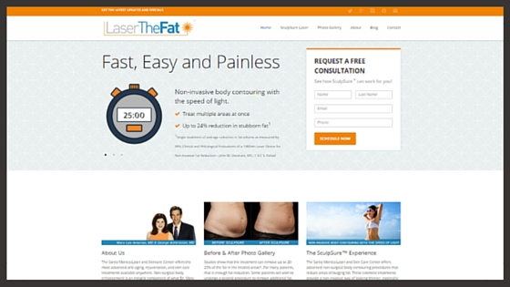 Explore the Laser The Fat website to learn more about SculpSure at the Snata Monica Laser and Skincare Center
