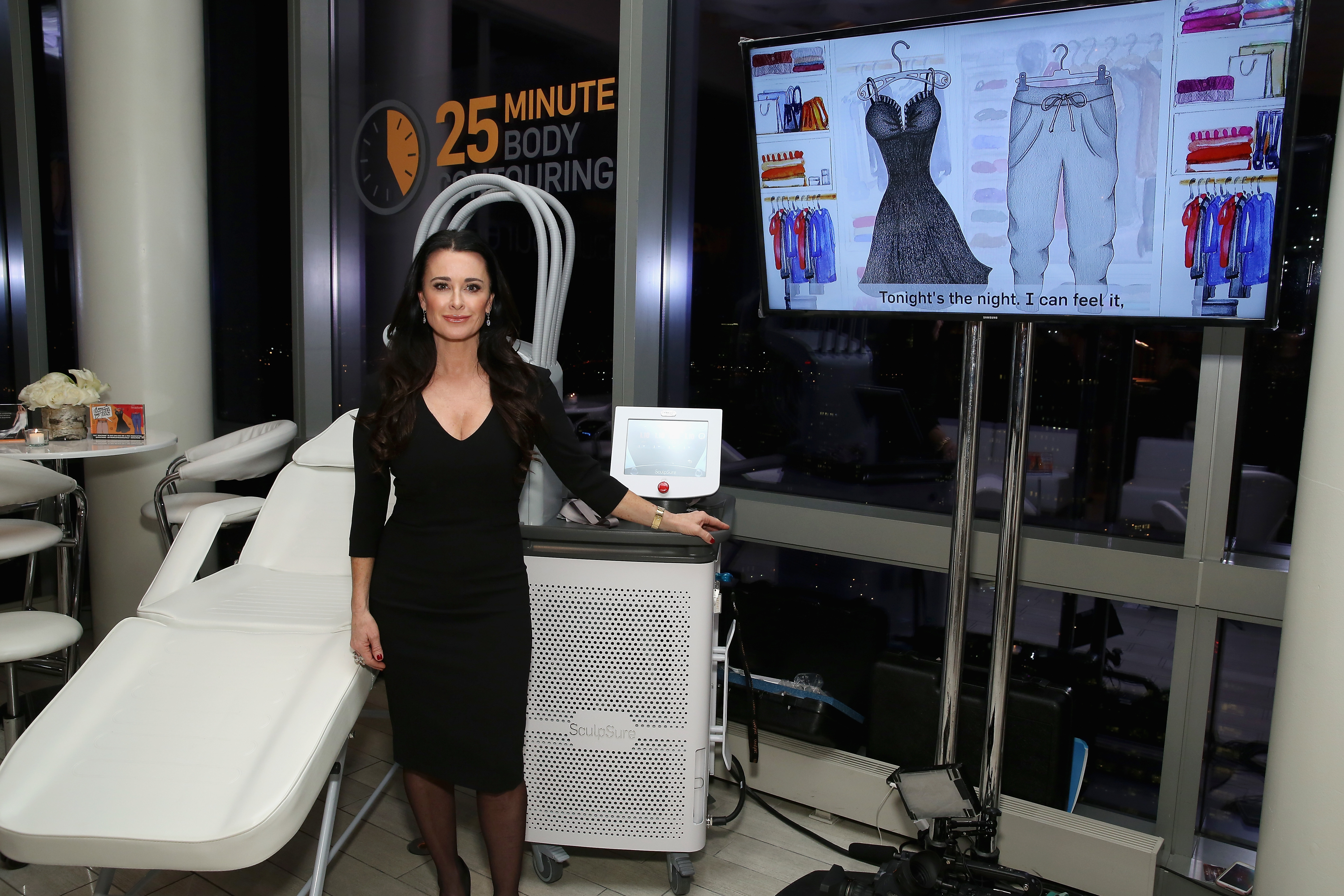 Kyle Richards on SculpSure