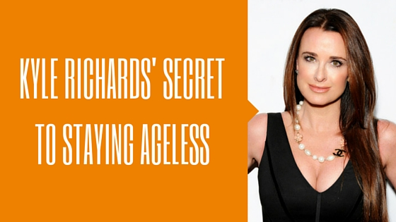 Kyle Richards Reveals Her Secrets to Staying Ageless
